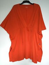 OSKA (ONE SIZE FITS ALL) BURNT ORANGE Cotton/Hemp Jersey TINIC, LAGENLOOK QUIRKY