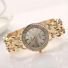 Women's Ladies Fashion Watch Stainless Steel Golden Band Quartz Wrist Watches