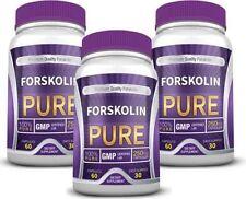 Forskolin Pure - Weight Loss Supplement 20% Standardized Forskolin (3 Bottles)