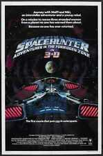 Spacehunter Poster 02 Metal Sign A4 12x8 Aluminium