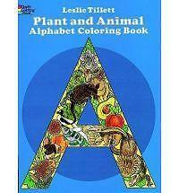 Plant and Animal Alphabet Colouring Book by Leslie Tillett (Paperback, 1980)