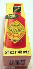 Tabasco Brand Garlic Pepper Sauce - Garlic Flavor 5 oz - Fresh!