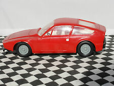 PLASTIC ALFA ROMEO 1300 RED M120 1.24 SCALE  USED UNBOXED zagato