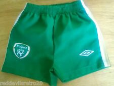 Republic of Ireland Official Umbro Football Shorts (Kids 6-12 Months)