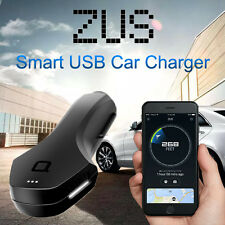 Nonda ZUS 2 Slot Smart Car Charger w/Car Finder Bluetooth For Android iPhone