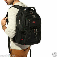 "15.6"" Laptop Backpack Notebook Rucksack Swiss Gear Outdoor Travel School Bag New"
