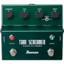 Ibanez TS808DX Tube Screamer Booster Guitar Effects Pedal Stomp Box F/S