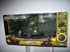 FORCES OF VALOR US 2 1/2 TON CARGO TRUCK 1:32 SCALE WITH FIGURES