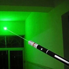 New 532nm 1MW Powerful Green LED Laser Lazer Pointer Pen Power Professional UK