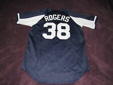 VINTAGE MAJESTIC NEW YORK YANKEES KENNY ROGERS BASEBALL JERSEY SIZE MEDIUM