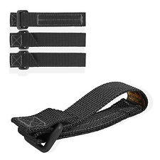 "Maxpedition 3"" Black TacTie Straps Pack Of Four 9903B"