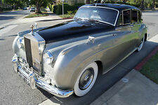 1961 Rolls-Royce Other Black Connolly Leather with Light Gray Piping