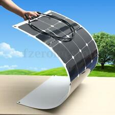 100W 18v Energy Mono Solar Panel Semi Flexible Battery Charger For Boat Caravan