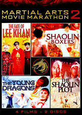 New, Martial Arts Movie Marathon, Vol. 2 (The Fate Of Lee Khan, Shaolin Boxers,