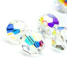 24xSwarovski ® AB Crystals 4mm Round Beads 5000