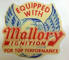 RAT ROD HOT ROD CHOPPER  BOBBER TATTOO  DECAL STICKER   MALLORY