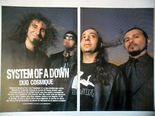 COUPURE DE PRESSE-CLIPPING :  SYSTEM OF A DOWN [8pages] 04/2005 Daron Malakian