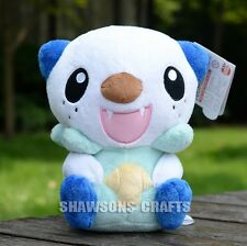 "POKEMON POCKET MONSTER CHARACTER PLUSH STUFFED TOYS 10"" OSHAWOTT SOFT DOLL"