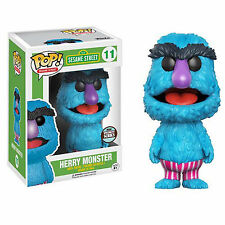 Funko Sesame Street Specialty Series POP Herry Monster Vinyl Figure NEW IN STOCK
