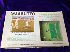 Tabella subbuteto Cricket Display EDIZIONE