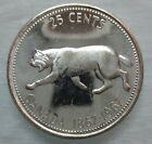 1967 CANADA 25 CENTS BRILLIANT UNCIRCULATED SILVER QUARTER