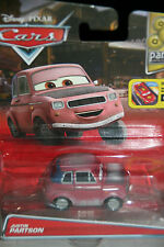 """DISNEY PIXAR CARS 2 """"JUSTIN PARTSON"""" NEW IN PACKAGE, SHIP WORLDWIDE"""