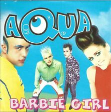 Aqua  ‎– Barbie Girl      cd single in cardboard
