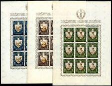 KROATIEN 1943 95-96KB ** POSTFRISCH KLEINBOGEN 150€(41615