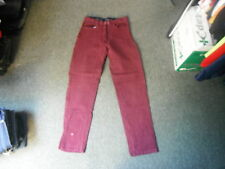 "Harry Hall Classic Fit Jeans Waist 30"" Leg 32"" Faded Maroon Ladies Jeans"