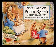 Tale of Peter Rabbit - Original by Beatrix Potter -  Story Board Book -  NEW
