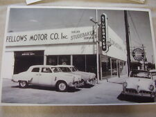 1952 STUDEBAKER  DEALERSHIP  AN CARS   11 X 17  PHOTO /  PICTURE