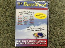 BuzzTool Applique, Monogram, and Lettering Embroidery Software - Buzz Word