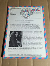 POP-SERVER-BLITZINFORMATION - ARIOLA - CLAIRE HAMILL - PROMO-MATERIAL 1973