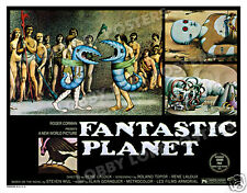 FANTASTIC PLANET LOBBY CARD POSTER HS 1973 TER OM SLAVE YGAM ALIENS DRAAGS
