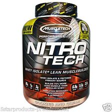 MUSCLETECH NITRO TECH SERIES PROTEIN ISO 4 LBS COOKIES & CREAM 1.8 KG NITROTECH
