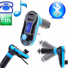 Car Kit Charger Dual USB FM Transmitter Wireless Bluetooth Stereo MP3 Player AUX