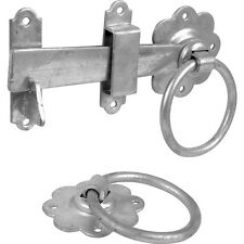 """NEW Ring Handled Gate Latch 6"""" Galvanised Each"""