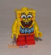 Lego Spongebob Squarepants with Blue Lei from Set 3818 Minifigure NEW bob036
