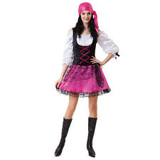 NEW Totally Ghoul Caribean Pirate Teen Girls Costume One size fits most