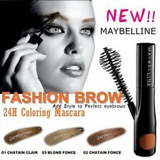 GEMEY MAYBELLINE FASHION BROW MASCARA SOURCILS 24H SEMI PERMANENT 03 BLOND FONCE