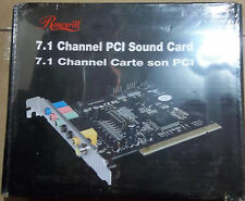 Rosewill RC-702 7.1 Channels 16-bit 96KHz PCI Interface Sound Card NEW SEALED