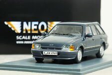 "1:43 NEO ""1988 [MK4] FORD ESCORT GL ESTATE"" (Grey) V-RARE 18 XR3 Rs Turnier"