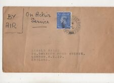 Field Post Office 710 Postmark 1947 On Active Service Cover Oswald Marsh 445b