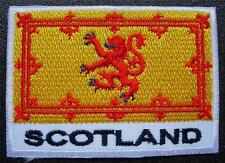 """The ROYAL STANDARD of SCOTLAND, Flag, Sew / Glue on BADGE, Patch, Size 2.8"""" x 2"""""""