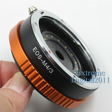 EOS-M4/3 Adapter Ring For Canon EF Lens To Micro 4/3 Camera Aperture Adjustable