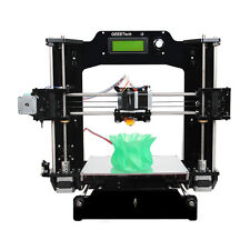 Print 6 filaments Full Acrylic Prusa I3 DIY Pro X 3D Printer free shipping