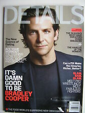 BRADLEY COOPER  May 2013 Details Magazine  ADELAIDE CLEMENS  NICK LACHEY