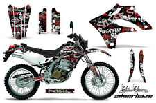KAWASAKI KLX 250 Graphic Kit AMR Racing Decal Sticker Part 04-07 SHR
