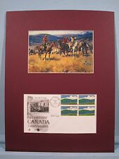 Royal Canadian Mounted Police by Charles Russell & Canadian Centennial Cover