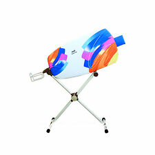 dazzl 360˚ Rotation Sided Ironing Board With Iron Rest Patent Pending-Watercolor